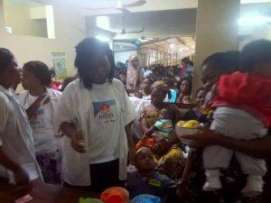 World Breastfeeding Week 2017 in Cameroon, Dr Chifor