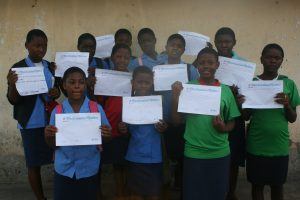 Menstrual Hygiene Day 2017 in Cameroon, The Students