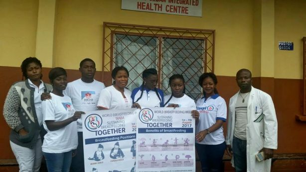 Team - Hero Cameroon Celebrates World Breastfeeding Week 2017