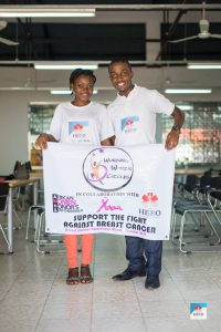 HERO Cameroon, World Breast Cancer Awareness Month Commeration