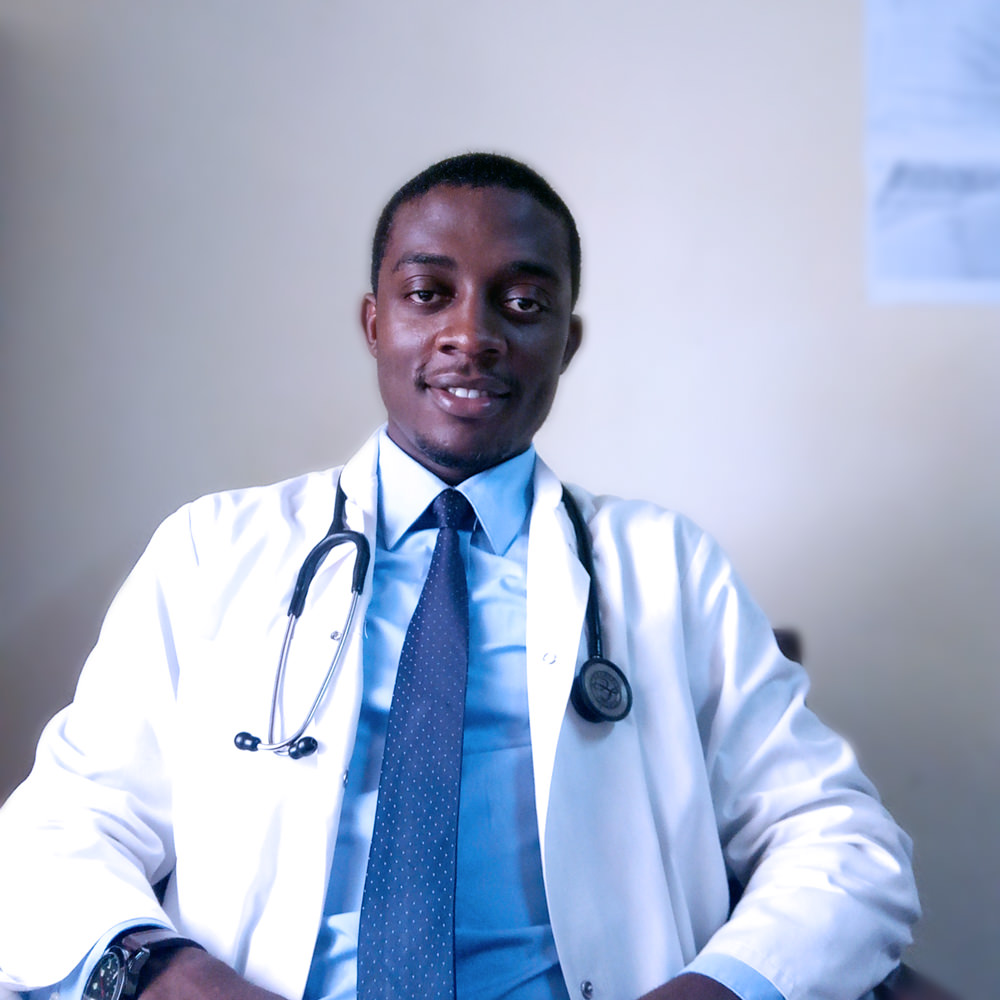 Dr. Domin Ekaney, Member of HERO Cameroon, Chief Operations Officer