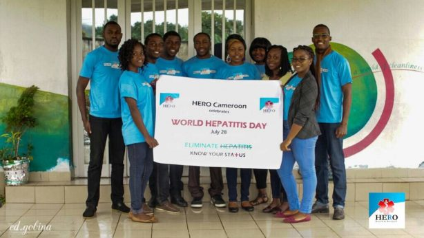 Herp Cameroon Celebrates World Hepatitis Day with HYSACAM, Team picture