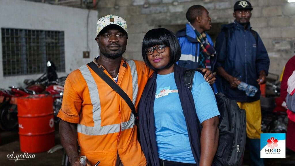 World Hepatitis Day 2017 Celebration with HYSACAM Buea Sanitary Workers