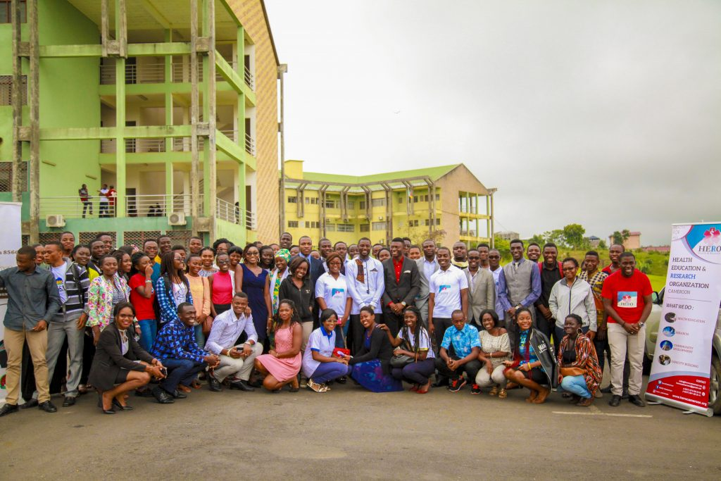 Capacity Building with medical students in Cameroon