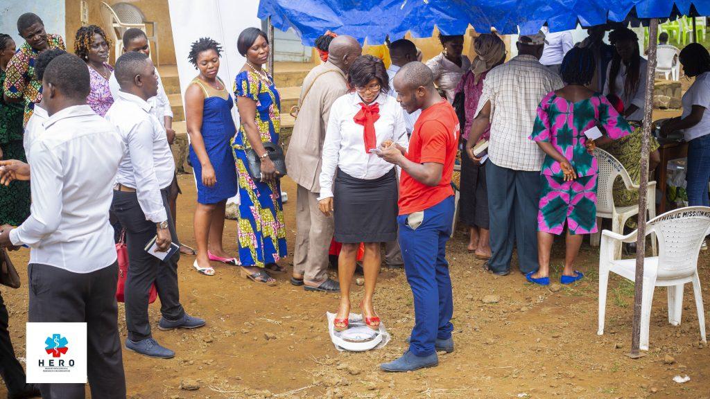 Celebrating World Stroke Day 2018 at the Ngeme Community, Cameroon