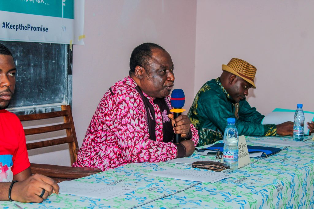 Universal Health Coverage symposium by HERO Cameroon